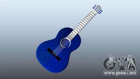 Guitarra clásica para GTA 5