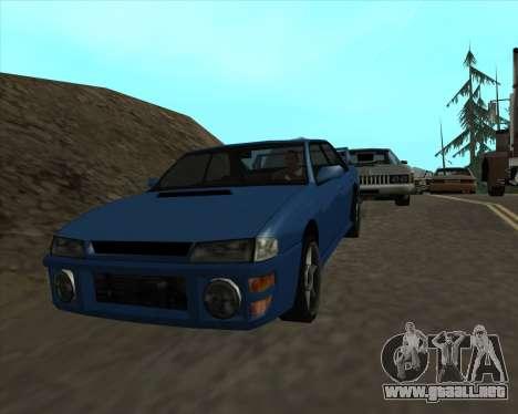 Sultan v1.0 para la visión correcta GTA San Andreas