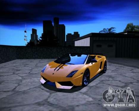 ENB Benyamin for Low PC para GTA San Andreas tercera pantalla