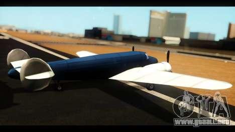 Bombardero de la v1.0 para GTA San Andreas left