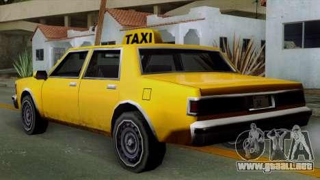 Classic Taxi Los Santos para GTA San Andreas left