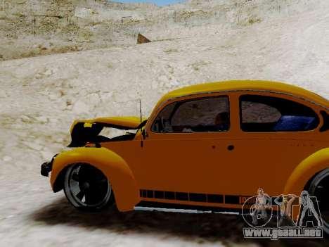 Volkswagen Escarabajo 1975 Jeans Edición Persona para vista inferior GTA San Andreas