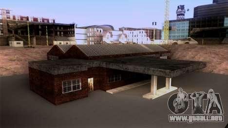 New LSPD garaje para GTA San Andreas segunda pantalla