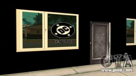 New Store DC v2 para GTA San Andreas sucesivamente de pantalla