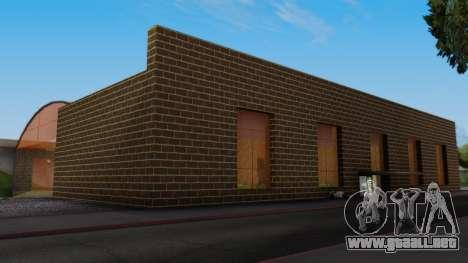 La estación en San Fierro Final para GTA San Andreas segunda pantalla