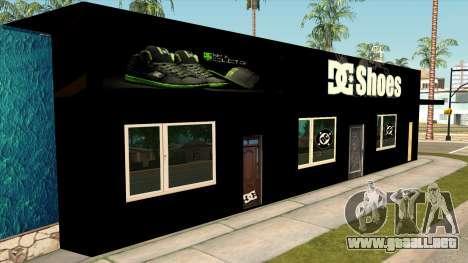 New Store DC v2 para GTA San Andreas segunda pantalla
