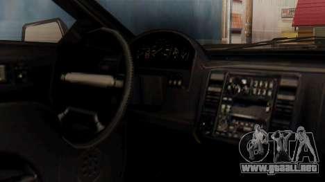 GTA 5 Cheval Fugitive IVF para la visión correcta GTA San Andreas