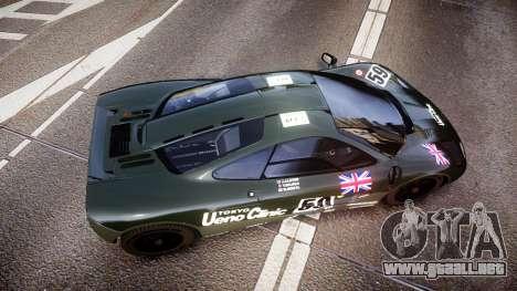 McLaren F1 1993 [EPM] Ueno Clinic para GTA 4 visión correcta