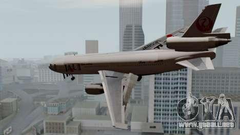 DC-10-30 Japan Airlines para GTA San Andreas left