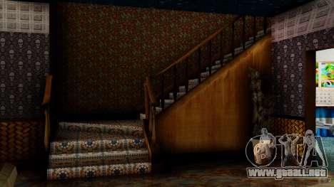 Stern Design House CJ para GTA San Andreas segunda pantalla