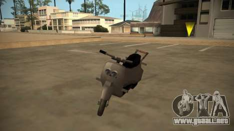 Stunt-Faggio para GTA San Andreas