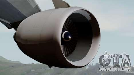 DC-10-30 Japan Airlines para la visión correcta GTA San Andreas