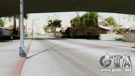 Winter Grove Street para GTA San Andreas segunda pantalla