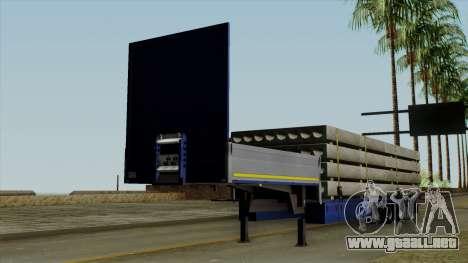Flatbed3 Blue para GTA San Andreas