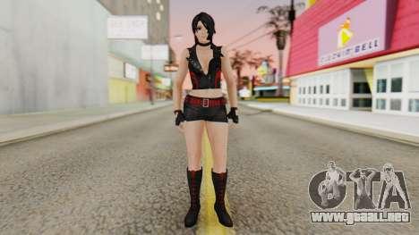 Momiji from DoA 5 para GTA San Andreas segunda pantalla
