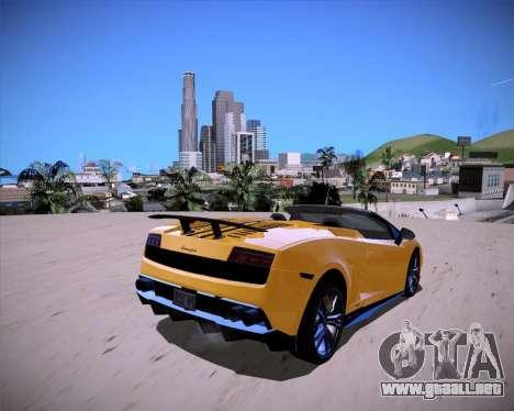 ENB Benyamin for Low PC para GTA San Andreas segunda pantalla
