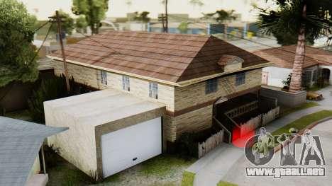 El nuevo interior de la casa de CJ para GTA San Andreas segunda pantalla