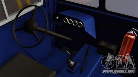 Clark CT-50D Tug para la visión correcta GTA San Andreas