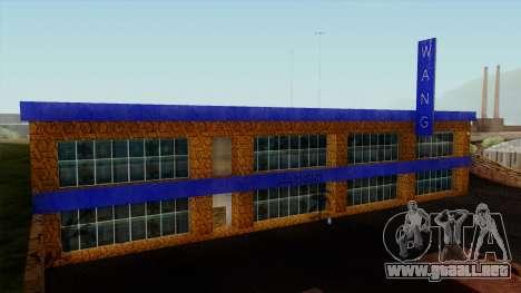 Wang Coches Showroom para GTA San Andreas