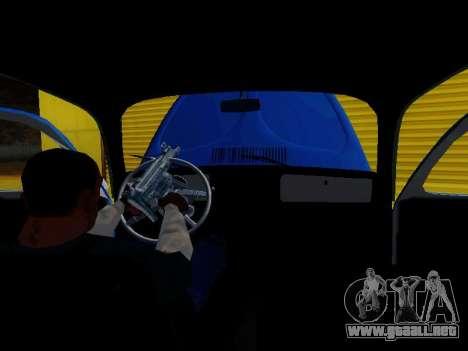 Volkswagen Escarabajo 1975 Jeans Edición Persona para GTA San Andreas left
