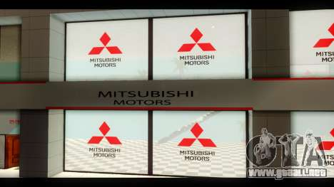 El Mitsubishi Motors Concesionario para GTA San Andreas tercera pantalla
