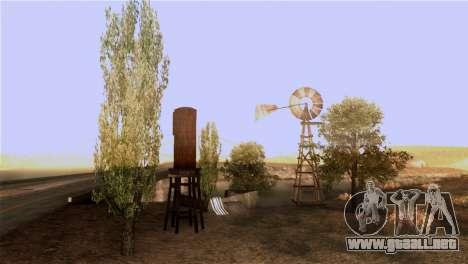 La textura de los árboles de la MGR para GTA San Andreas sucesivamente de pantalla