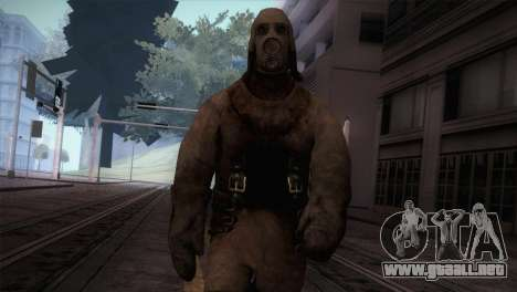 Order Soldier4 from Silent Hill para GTA San Andreas