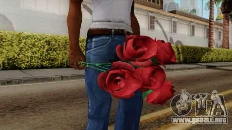 Original HD Flowers para GTA San Andreas segunda pantalla