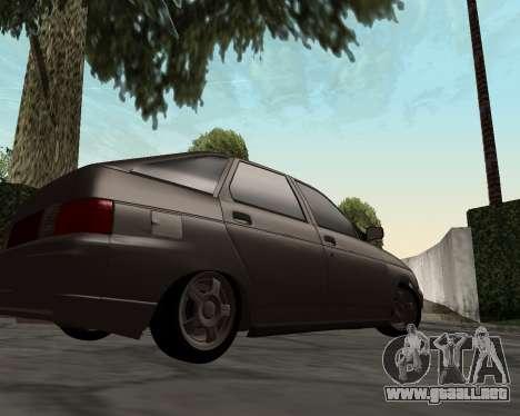 VAZ 2112 para GTA San Andreas left