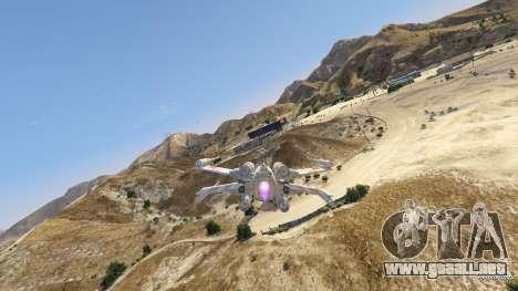 GTA 5 Xwing-Hydra Hybrid sexta captura de pantalla