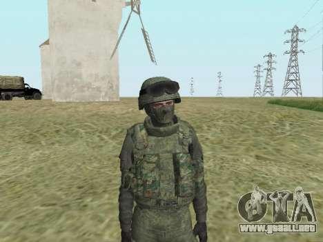 Pak combatientes de las tropas especiales del GR para GTA San Andreas séptima pantalla