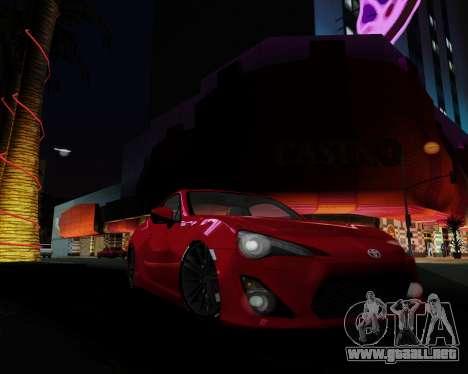 ENB Pizx para GTA San Andreas sexta pantalla