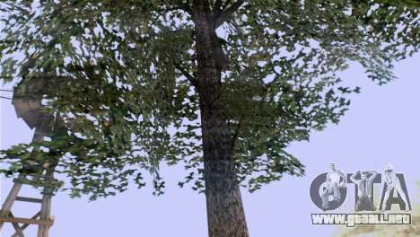 La textura de los árboles de la MGR para GTA San Andreas segunda pantalla