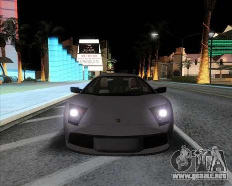 Andromax ENB para GTA San Andreas tercera pantalla
