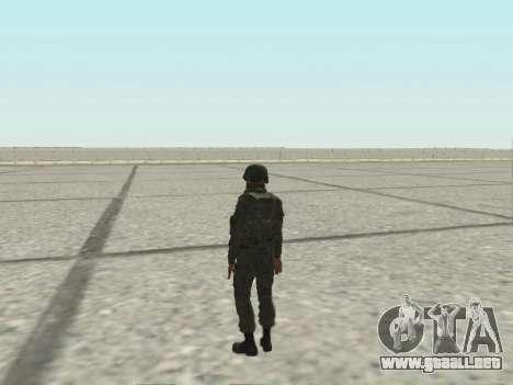 Pak combatientes de las tropas especiales del GR para GTA San Andreas twelth pantalla