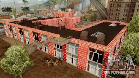 Motel Jefferson para GTA San Andreas sucesivamente de pantalla