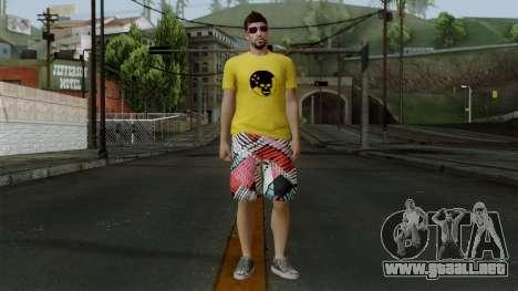 GTA 5 Online Wmygol2 para GTA San Andreas segunda pantalla