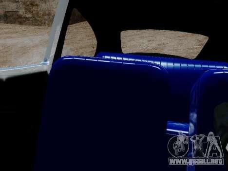 Volkswagen Escarabajo 1975 Jeans Edición Persona para GTA San Andreas vista hacia atrás