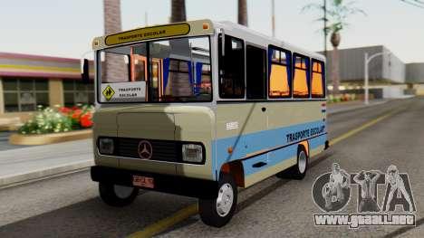 Mercedes-Benz LO-608D Paraguay School Bus para GTA San Andreas