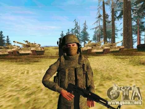 Pak combatientes de las tropas especiales del GR para GTA San Andreas