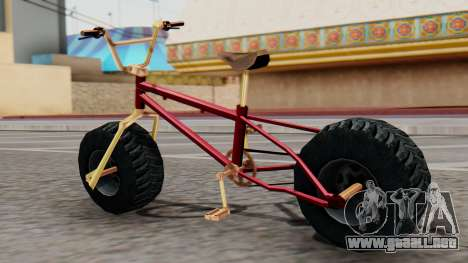 Monster BMX para GTA San Andreas left