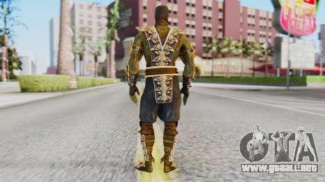 [MKX] Reptil para GTA San Andreas tercera pantalla