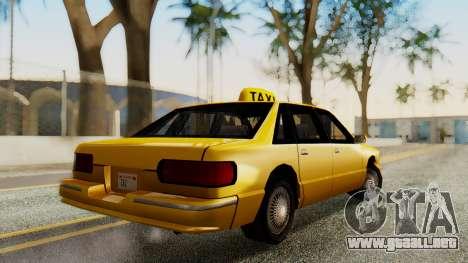 Declasse Premier Taxi para GTA San Andreas left