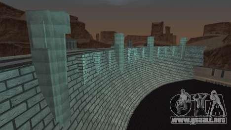 Presa para GTA San Andreas sucesivamente de pantalla