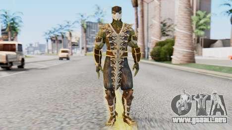 [MKX] Reptil para GTA San Andreas segunda pantalla