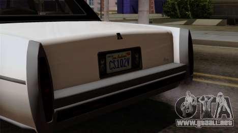 GTA 5 Albany Emperor para la visión correcta GTA San Andreas