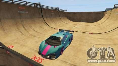 GTA 5 Empinada rampa quinta captura de pantalla