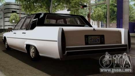 GTA 5 Albany Emperor para GTA San Andreas left