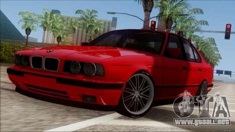 BMW M5 E34 BUFG Edition para GTA San Andreas left