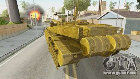 T-90MS CoD Ghost para GTA San Andreas left